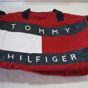 Vintage Tommy Hilfiger Duffel Bag